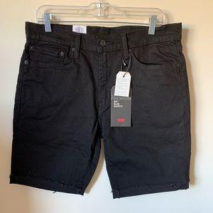 Women's Black 511 Levi Shorts. NWT. Size W 34
